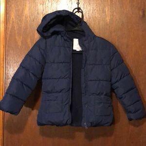 Gymboree girls fleece winter coat